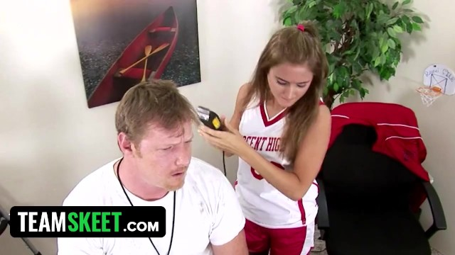 Bad Girl Katie Sands Messes Up Her Teachers Hair And Gets Shagged 6