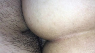 POV ass pounding by the side hot moans and anal orgasm part 2