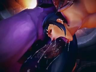 Female Warlock takes N'ziri's huge futa cock – by Jimahn, voiced by CinderDryadVA