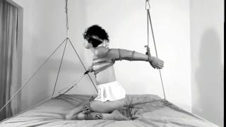 TITS Bondage & Crotch rope: Your struggle makes you cum HARDER