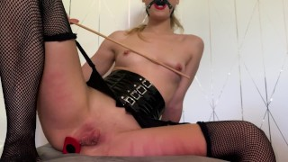 BDSM SESSION ENDS WITH DOUBLE CREAMPIE & SQUIRT | LaraJuicy