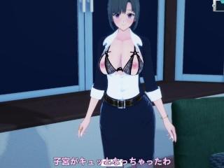 3 hentai visits step sons room at night...