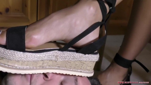 valerys feet domination, shoes and foot worship, food crushing, sole licking and toe suck 18