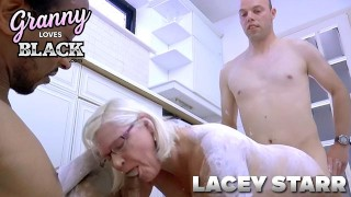 GRANNYLOVESBLACK - Horny Housewife Pounded By Painters