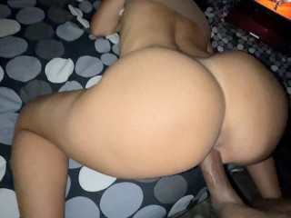Sexy the ass destroy by huge dick after...