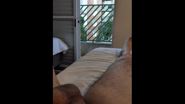 dick flash naked to the neighbot at window