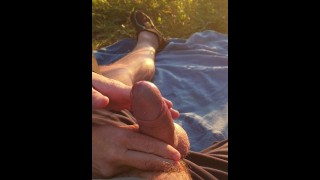 Outdoor Teasing. Enough, Maybe. Let's Go Home and Drain you. Femdom. Cum denial. Chastity.
