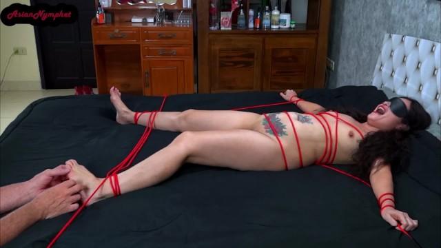 Asian;Amateur;Babe;Bondage;Small Tits;Feet;Verified Amateurs;Female Orgasm asian, asian-milf, bdsm, bdsm-bondage, rope-bondage, rope, tickle, tickle-bondage, tickle-feet, tied-and-tickled, feet-tickling, tickled, blindfolded, kink, petite