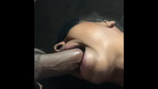 Oops I fucked her throat too hard! { Must watch }