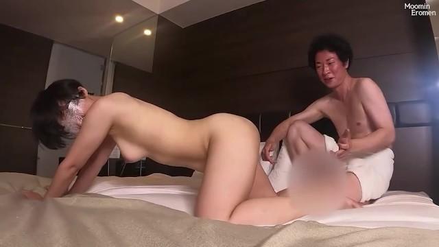 【長身スレンダー美女】黒髪ショートヘアの女の子の膣奥を手マンと巨根でグリグリ