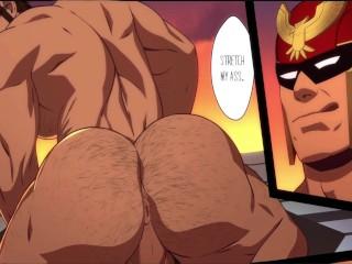 Yaoi anime hentai gay animated cartoon captain falcon...