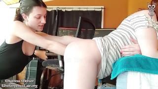 Anal Fisting Sissy Chastity Slut Deep by Hardcore FemDom Mistress Mercer