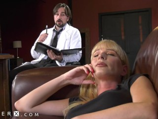 GenderX – Hot Transgender MILF Ass Fucked By Her Therapist