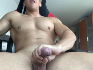 HOTTEST COCK ON PORNHUB CUMMING HARD AND LOUD!!