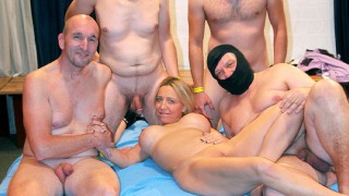Funny Hill in a Creamy GangBang