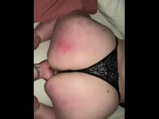 Big bbw ass bounces...