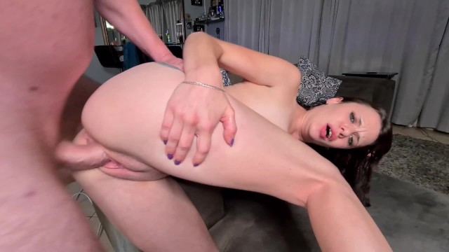 Petite slut fucked from pussy to ass to mouth 3