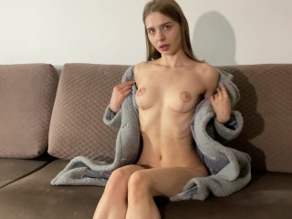 Russian bitch wants to become star fucked her...