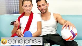 Dane Jones French MILF Megane Lopez deepthroat and creampie on big dick