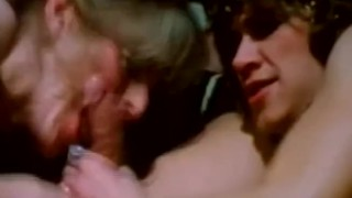 Classic Threesome With Retro Babes From 1972 Moment