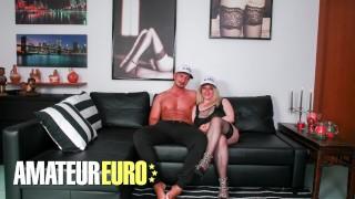 AMATEUREURO - Fat Ass Italian Blonde Rough Anal Domination