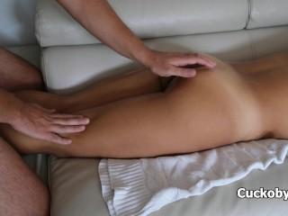 Erotic cuckold massage...