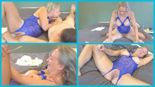 MILF Helps Husband Unwind After Long Day At Work FREE PORN