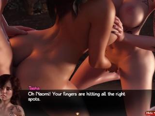 Nadia 54 with naomi and tasha get licked...