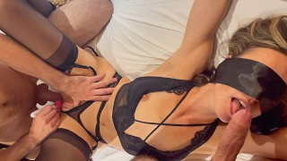 Tied Squirting Orgasm