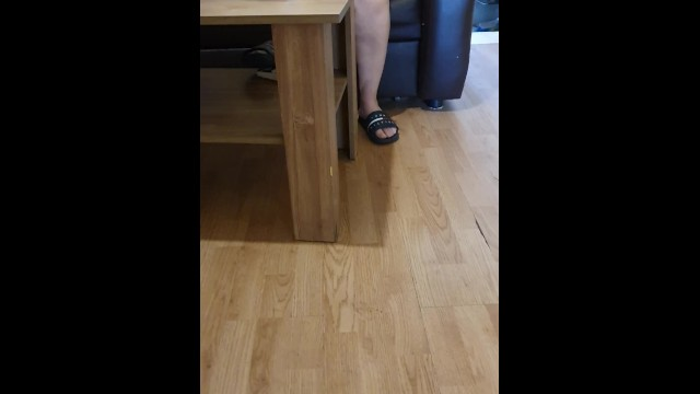 Step mom Legs Wide Open Pussy Fucked by step son Til she Squirts 13