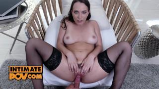 Lily Love in POV doggystyle grind after striptease temptation - itsPOV