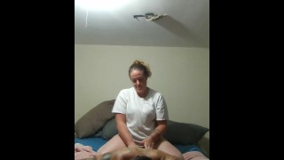 Girl gives awesome massage and then turns into hot sex