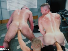 Threesome With Repeat Offender Josh Mikael's Turn To Fist - FistingInferno