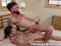 Chris Damned Rams His Huge Cock Into His BF - RagingStallion
