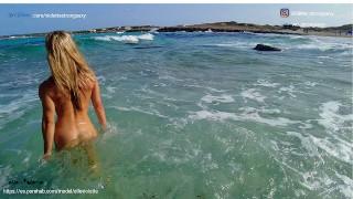 Sex on the beach. Part I. Ep 55 amateur ELLEVIOLETTE