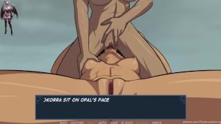 Book 5 Untold 38 Korra's First Threesome