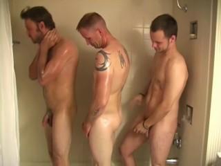 Three in a shower 4k...