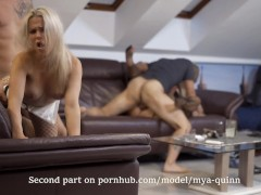 Party with friends Turns to Hardcore Swap Orgy Part 1