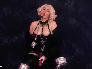 Fur in french chastity and...