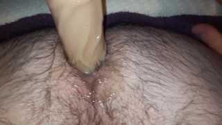 Homemade missionary pegging pov with sexy pawg hairy ink'd wife early video