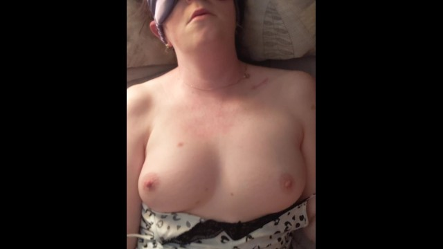 Wife cums using vibrator while giving me a hand job and blowjob 6