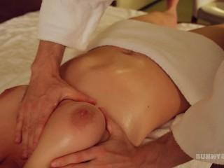 Masseur Fucked Me Hard Doggystyle . Oil massage