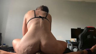 BBW Big Ass Tied Up Fullweight Facesitting Breath Play Crushing Submissive Slave Female Domination