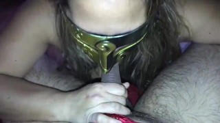 Pinay Wife Cheats and sucks her lovers, surprise size dick