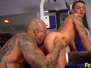 Peterfever inked ass fucks des irez...