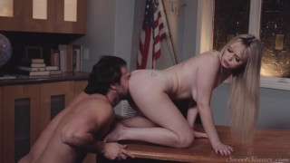 Sweet Sinner - Professor Seth Gamble Can't Resist The Company Of Lilly Bell & Her Tight, Young Pussy