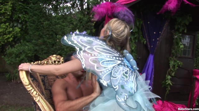Girls In Cute And Frilly Costumes Have An Orgy 20