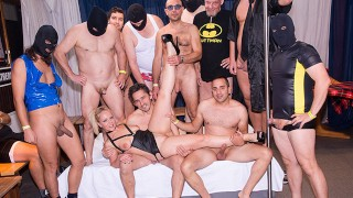 The guys meat Lonely Housewife