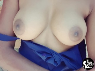 Sri lanka home alone sex girl boobes press...