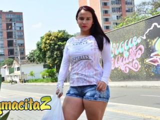 Carnedelmercado latina amateur angela rodriguez tries porn casting...